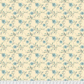 Shell Rummel Bloom Beautiful PWSR018 Heirloom Roses Sage Cotton Fabric By Yd