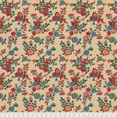 Free Spirit Boston Commons PWFS035 Isabella Cream Cotton Fabric By The Yard