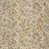 Tim Holtz PWTH037 Wallflower Birds & Berries Multi Cotton Fabric By Yard
