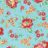 Verna Mosquera Love & Friendship PWVM173 Friendship Garden Sky Fabric By Yd