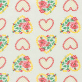 Verna Mosquera Love & Friendship PWVM171 Roseheart Cloud Fabric By Yd