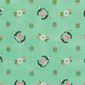 Tula Pink PWTP089 Slow & Steady Winner's Circle Strawberry Kiwi Fabric By Yard