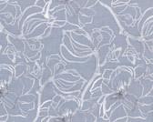 Shelli Rummel Soft Repose PWSR002 Steel Magnolia Grey Cotton Fabric By Yd