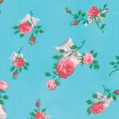 Verna Mosquera Love & Friendship PWVM170 Love Notes Sky Fabric By Yd