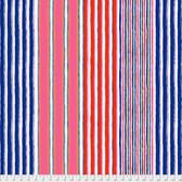 Kaffe Fassett PWGP163 Regimental Stripe Contrast Cotton Quilting Fabric By Yard