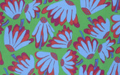 Brandon Mably PWBM044 Lazy Daisy Green Quilting Cotton Fabric By The Yard