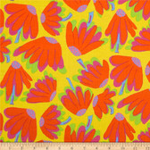 Brandon Mably PWBM044 Lazy Daisy Citrus Quilting Cotton Fabric By The Yard
