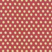 Kaffe Fassett GP70 Spot Paprika Cotton Quilting Fabric By Yd