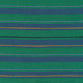 Kaffe Fassett Alternating Stripe Teal Woven Cotton Fabric By The Yard