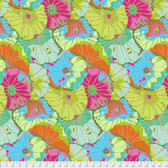 Kaffe Fassett GP29 Lotus Leaf Lime Cotton Fabric By The Yard