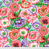 Philip Jacobs PWPJ095 Poppy Garden Pink Cotton Quilting Fabric By Yard