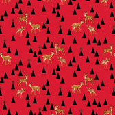 Tula Pink PWTP106 Holiday Homies Bambi Life Holiday Cotton Fabric By Yard