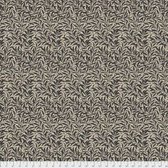 Morris & Co. Merton PWWM011 Willow Boughs Black Cotton Fabric By Yd