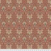 Morris & Co. Merton PWWM010 Snakehead Sage Cotton Fabric By Yd