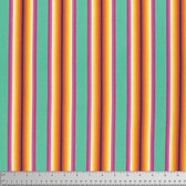 Tula Pink PWTP082 Chipper Tick Tock Stripe Sorbet Cotton Fabric By The Yard