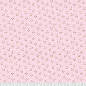 Laura Heine The Dress PWLH006 Blossom Pink Cotton Fabric By Yd