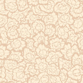 Snow Leopard English Garden PWSL059 Pelargonium Leaves Cream Cotton Fabric By Yd
