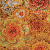 Philip Jacobs PWPJ051 Brassica Brown Cotton Quilting Fabric By Yard