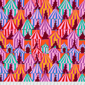 Brandon Mably PWBM066 Glamping Red Quilting Cotton Fabric By The Yard