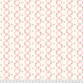 Verna Mosquera Kiss Goodby PWVM196 Ribbons In Bloom Linen Cotton Fabric By Yd
