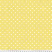 Verna Mosquera Kiss Goodby PWVM198 Delightful Dot Honey Cotton Fabric By Yd