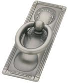"P10112-AN 3 3/4"" Antique Nickel Vintage Ring Cabinet Drawer Knob Pull"