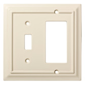 Brainerd W10771-LAL Lt. Almond Architect Switch / GFCI Wall Cover Plate