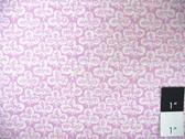 Kaffe Fassett GP73 Clover Lilac Cotton Quilting Fabric By The 15 Yard Bolt