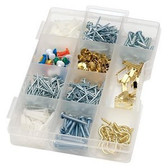 Liberty 085-03-3382 521 Piece Multi Pack Assorted Nails, Screws, Fasteners