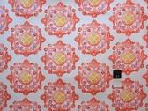 Ty Pennington SATY004 Home Dec Fall 11 Floral Delhi Orange Fabric By The Yd