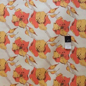 Tina Givens PWTG104 Lilliput Fields Cherry Tree Peach Cotton Fabric By Yd