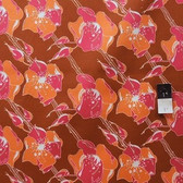 Tina Givens PWTG104 Lilliput Fields Cherry Tree Raspberry Cotton Fabric By Yd