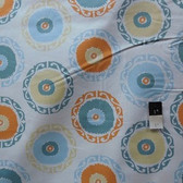 Annette Tatum AT62 Bohemian Suzanie Round Orange Fabric By The Yard