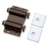 C07775-BR Magnetic Double Touch Latch Brown Lot of 2