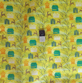 Anna Maria Horner VAH03 Little Folks Forest Hills Citrus VOILE Fabric By Yard