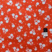 Jennifer Paganelli PWJP059 Girls World Vibe Anastasia Tangerine Fabric By Yard
