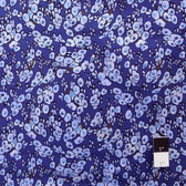 Victoria and Albert PWVA006 Benedictus Tree Buds Navy Fabric By Yard