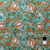 Melissa White PWMW013 Misaki House & Garden Slavic Fabric By Yard