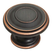 "P22782 VBC 1 3/4"" Bronze Copper Highlights Harmon Cabinet Drawer Knob"