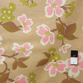 Joel Dewberry JD31 Modern Meadow Dogwood Bloom Pink Cotton Fabric By Yd