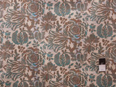 Victoria and Albert PWVA019 Bromley Arbor Brown Cotton Fabric By Yard
