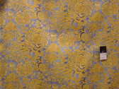 Victoria and Albert PWVA019 Bromley Arbor Citron Cotton Fabric By Yard