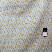 Valori Wells PWVW050 Novella Rain Aqua Cotton Fabric By The Yard