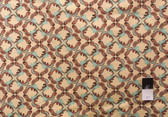 Tina Givens PWTG124 Fortiny Frills Rust Cotton Fabric By The Yard