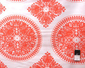 Ty Pennington PWTY020 Fall Impressions Medallion Orange Cotton Fabric By The Yard