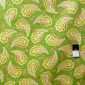 Heather Bailey PWHB024 Fresh Cut Dotted Paisley Green Fabric By The Yard