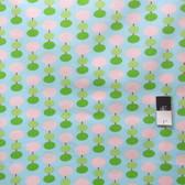 Tanya Whelan PWTW045 Sugar Hill Lantern Blue Fabric By Yd