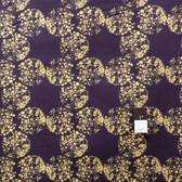 Dan Bennett PWDB024 Ruby Plankton Sapphire Fabric By The Yard