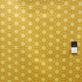 Joel Dewberry JD52 Heirloom Opal Gold Cotton Fabric By Yd