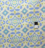 Dena Designs PWDF107 Taza Josephine Blue Fabric By Yard
